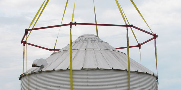 Bin Halo slideshow moving grain bin